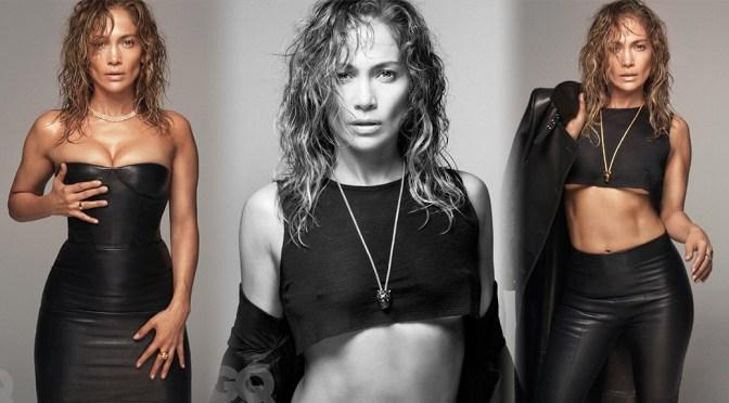 Jennifer Lopez – GQ Magazine Sexy Braless Photoshoot (December 2019/January 2020)