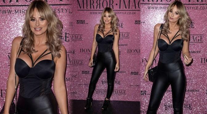 Rhian Sugden – Big Boobs at Mirror-Image Fashion Event in Manchester