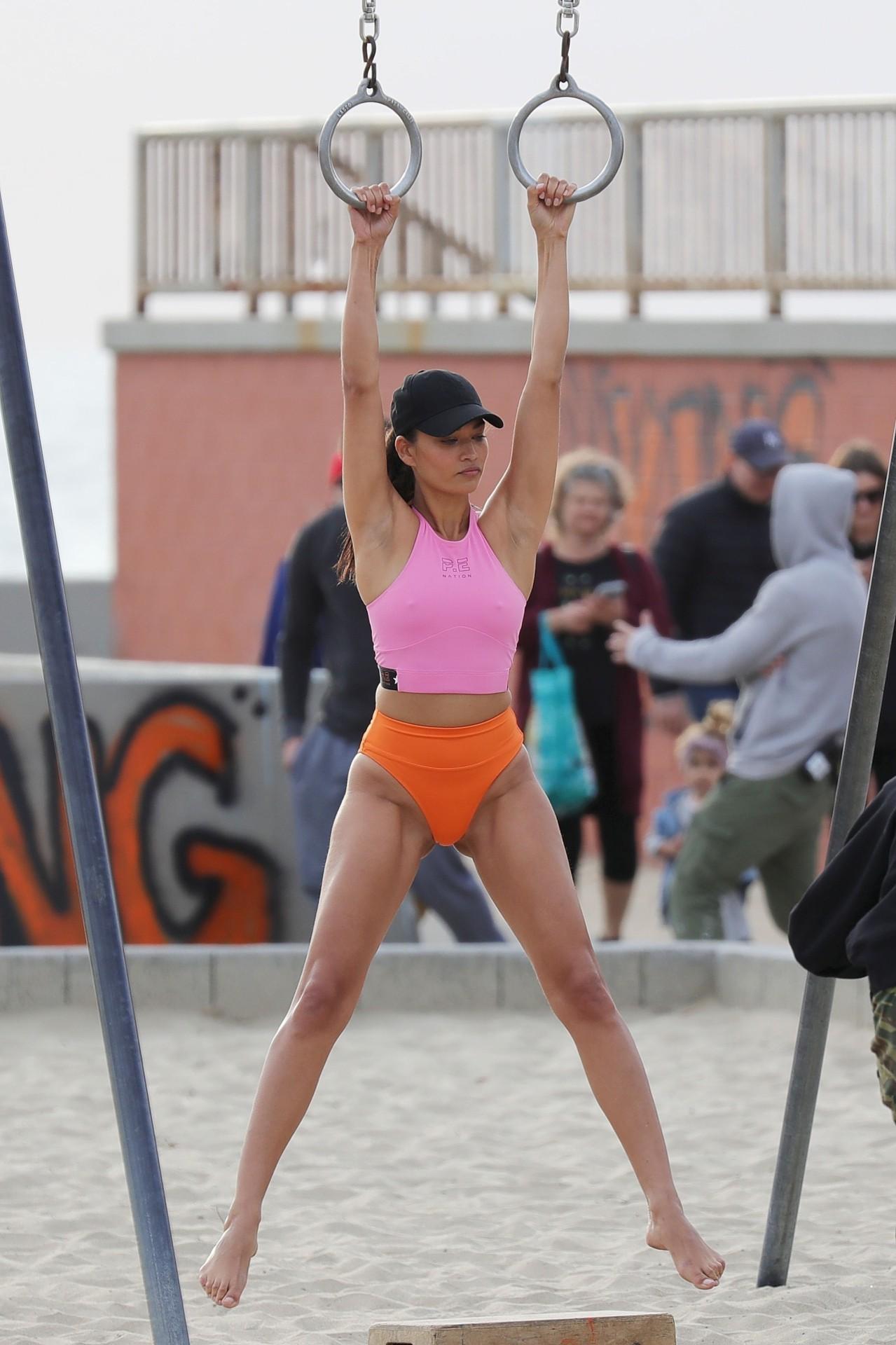 Shanina Shaik Bikini Photoshoot