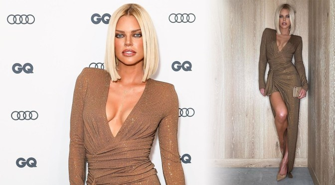 Sophie Monk – Braless Breasts at GQ Men Of The Year Awards 2019 in Sydney