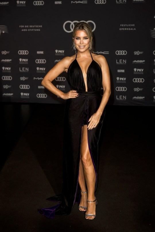 Sylvie Meis Sexy Black Dress