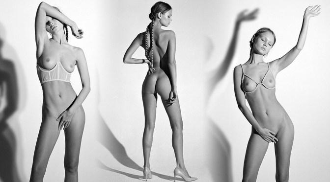 Anastasiya Scheglova – Sexy Topless Boobs in Naked Photoshoot