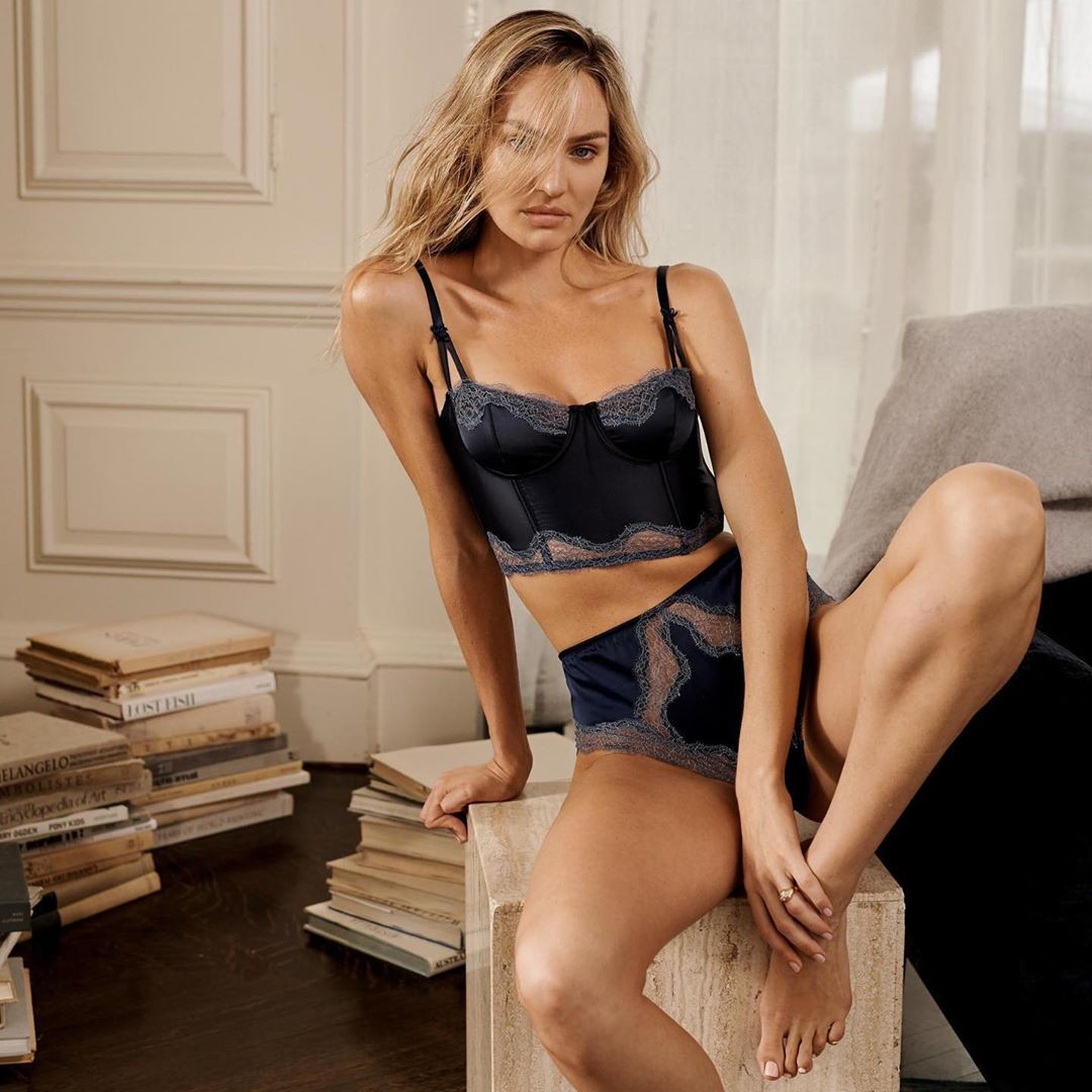 Candice Swanepoel Sexy Lingerie