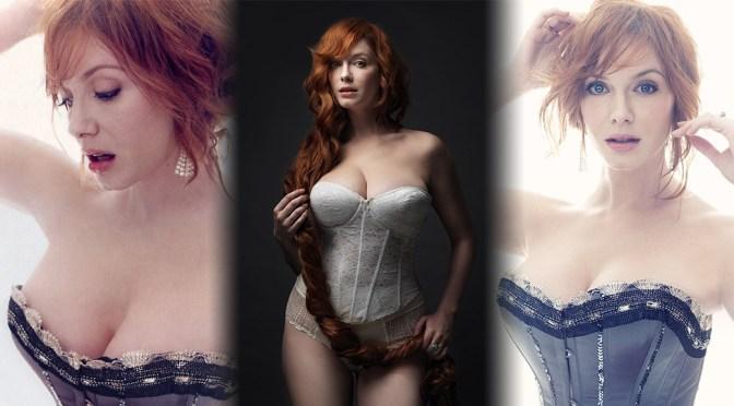 Christina Hendricks – Sexy Huge Boobs in Marco Grob Photoshoot 2010