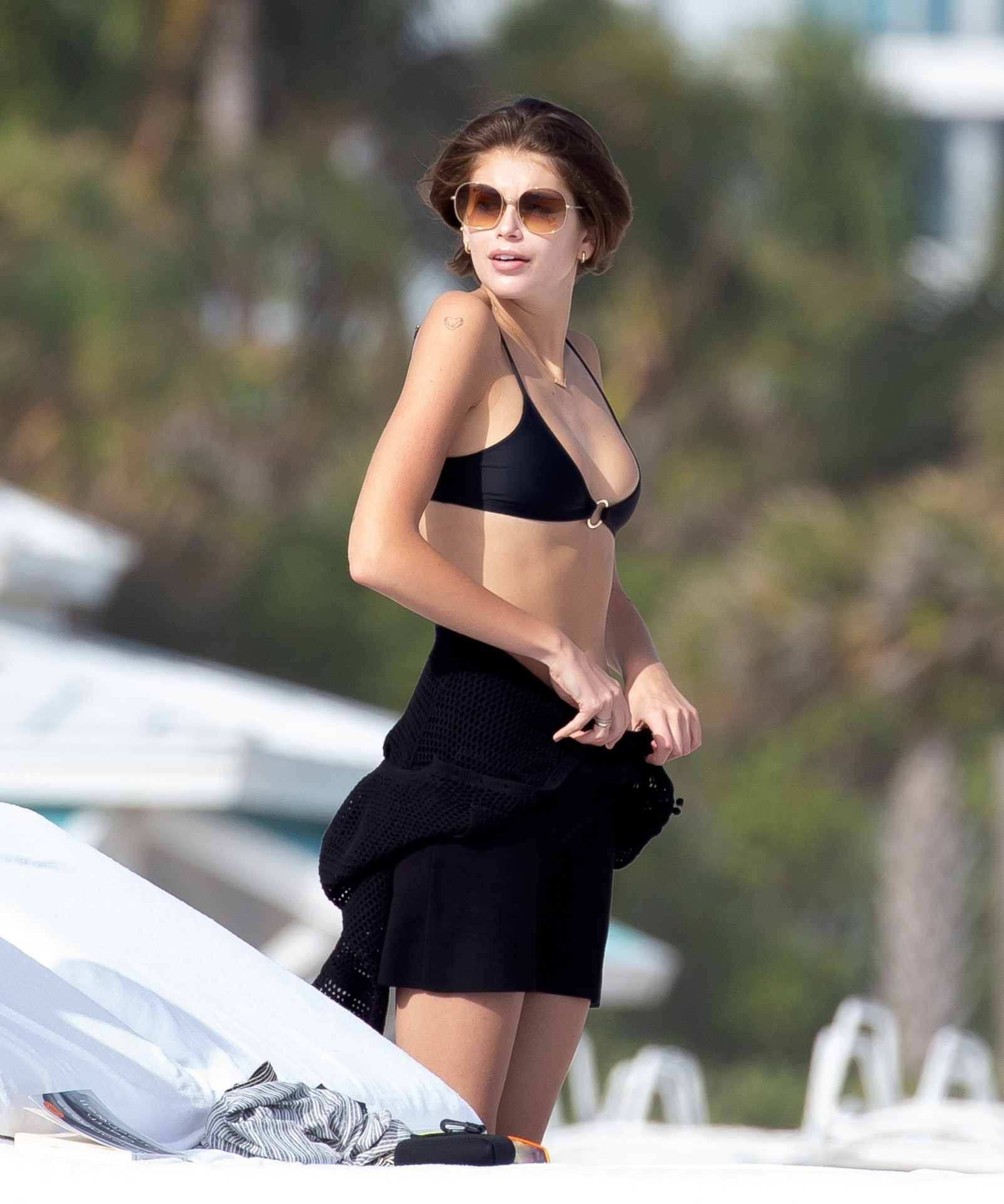 Kaia Gerber Sexy Bikini