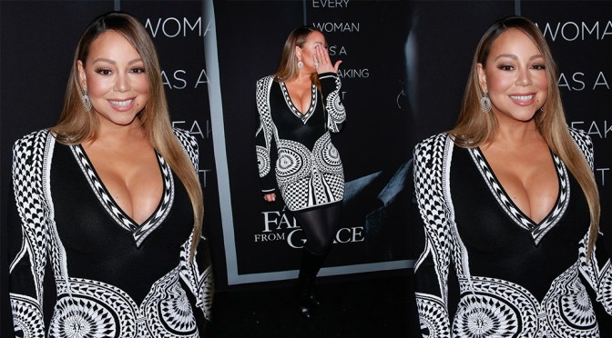 Mariah Carey Sexy Huge Breasts