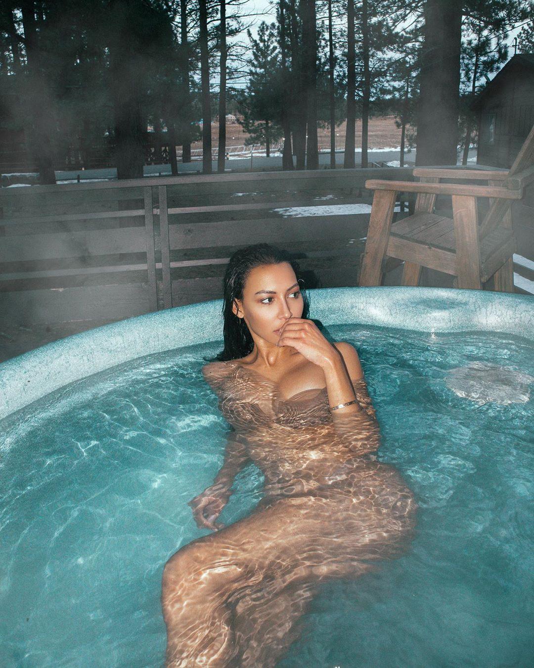 Naya Rivera Hot Body In A Bikini