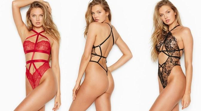 Romee Strijd – Sexy Body in Skimpy Victoria's Secret Lingerie Photoshoot
