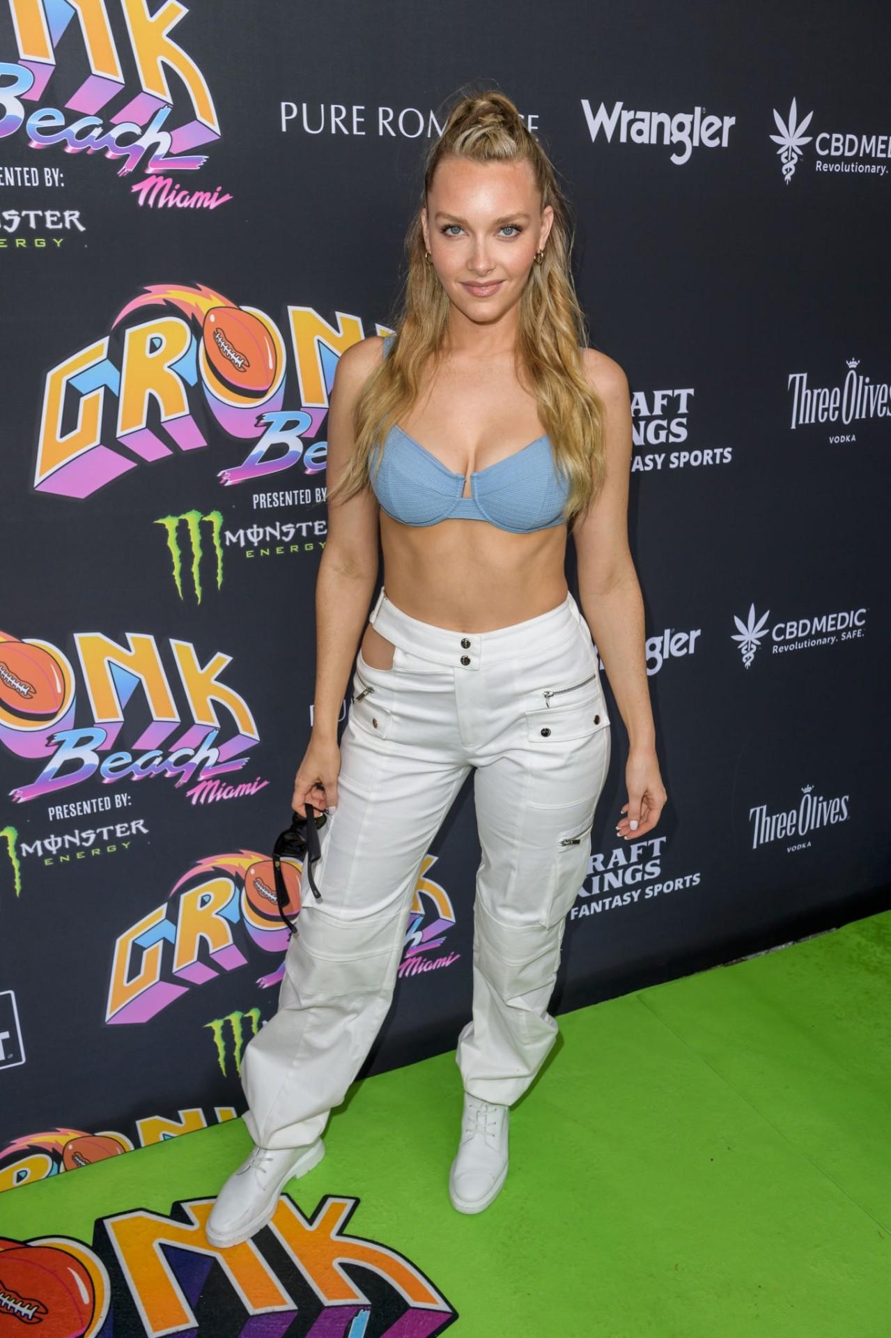 Camille Kostek Sexy In Bra