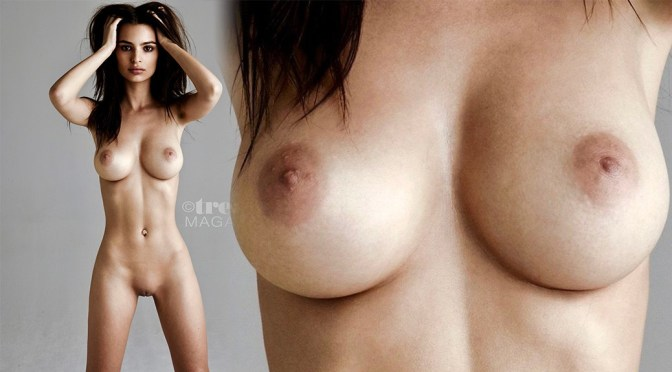 Emily Ratajkowski Perfect Naked Body