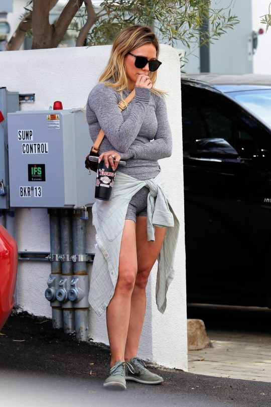 Hilary Duff Sexy Legs And Braless Boobs