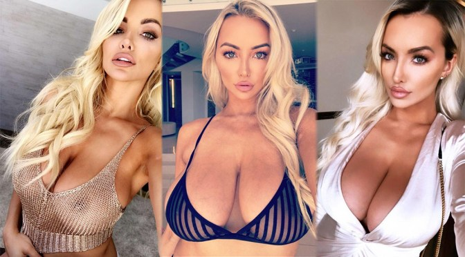Lindsey Pelas – Huge Breasts in Sexy Photoshoot