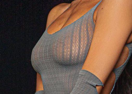 Madison Beer Sexy Boobs In Sheer Underwear