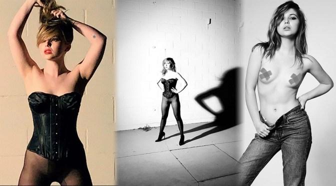 Sammi Hanratty – Sexy Topless Photoshoot by Tyler Shields (Censored)