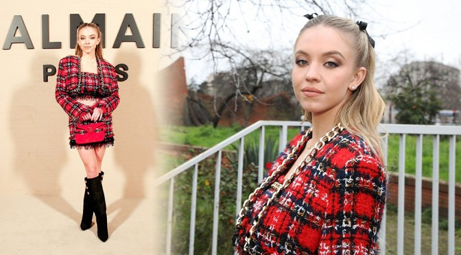 "Sydney Sweeney – Beautiful at ""Balmain"" Fashion Show in Paris"