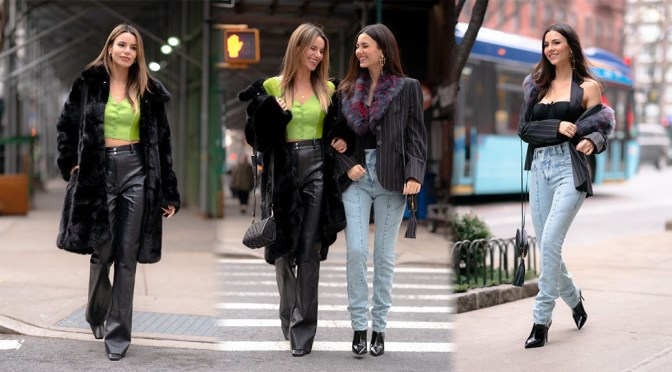 Victoria Justice & Madison Reed – Sexy Candids Out in New York City