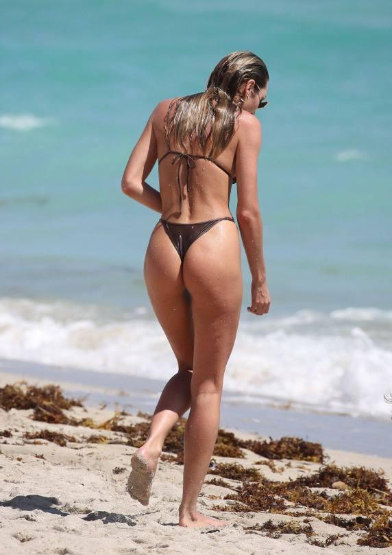 Candice Swanepoel Tiny Bikini