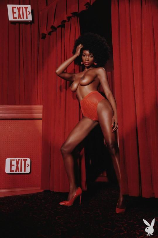 Chasity Samone Playboy Pics