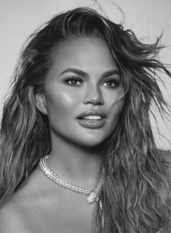 Chrissy Teigen Pretty Portraits