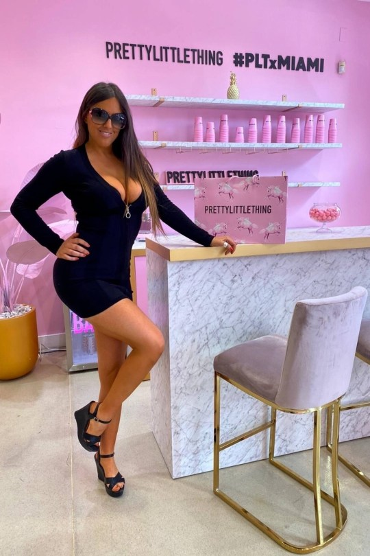 Claudia Romani Sexy Black Dress