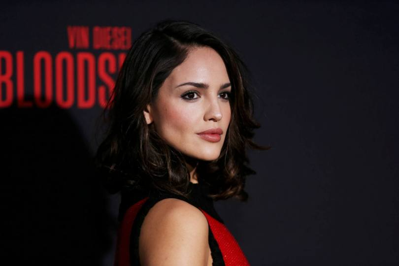 Eiza Gonzalez Hot Red Dress