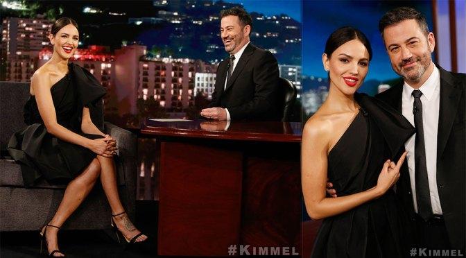"Eiza Gonzalez – Sexy Legs on ""Jimmy Kimmel Live"" in Hollywood"
