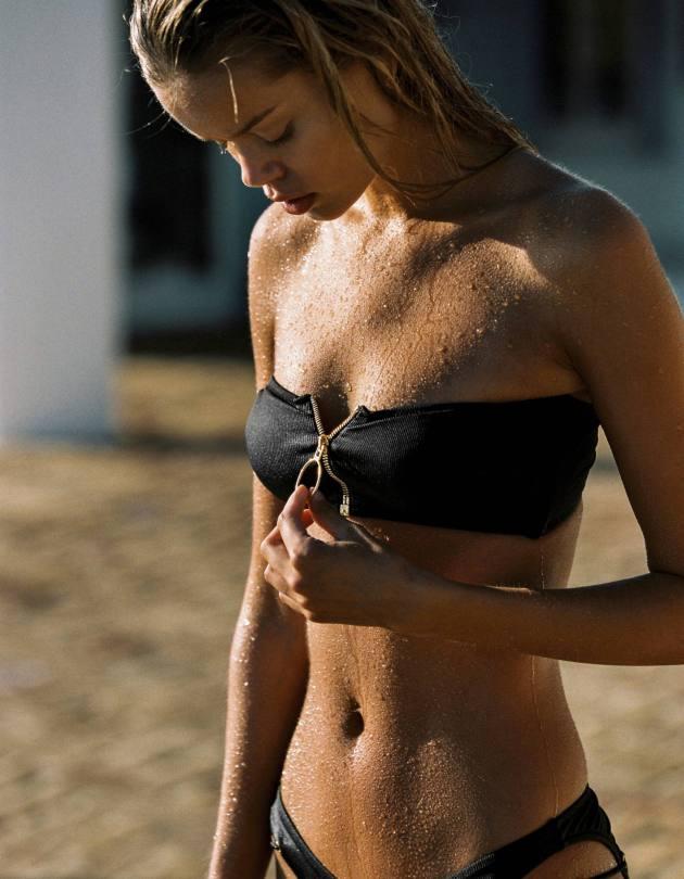 Frida Aasen Sexy Bikinis