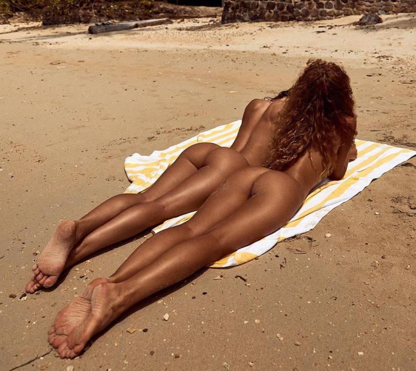 Julia Yaroshenko Jenny Mosienko Naked Asses