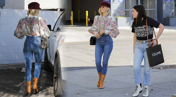 Julianne Hough – Sexy Ass in Tight Jeans Out in Los Angeles