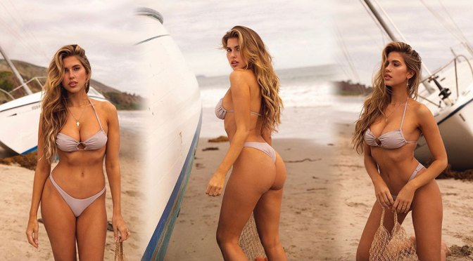 Kara Del Toro Skimpy Bikini