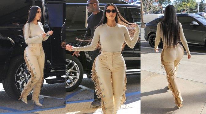 Kim Kardashian Sexy Big Ass And Curvy Body