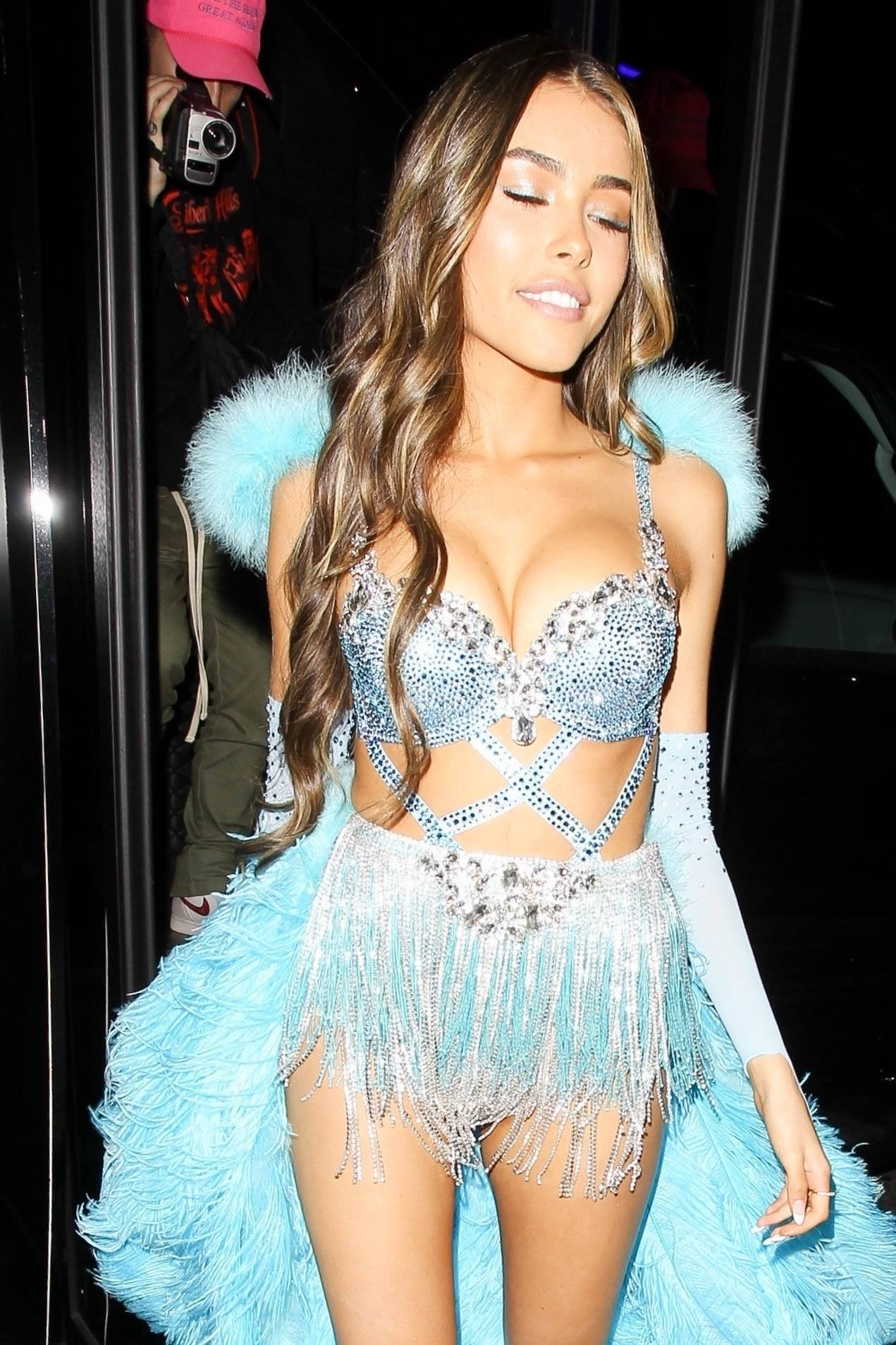 Madison Beer Hot Skimpy Outfit