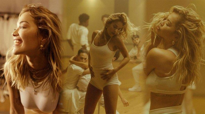 Rita Ora Sexy Braless Breasts