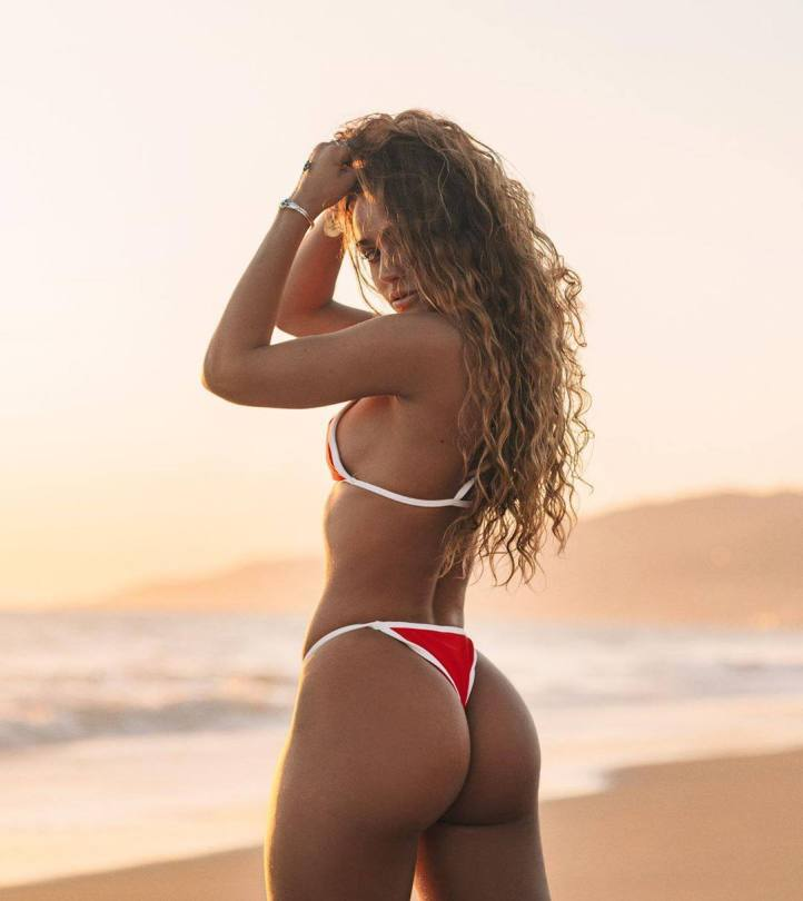 Sommer Ray Thong Bikini