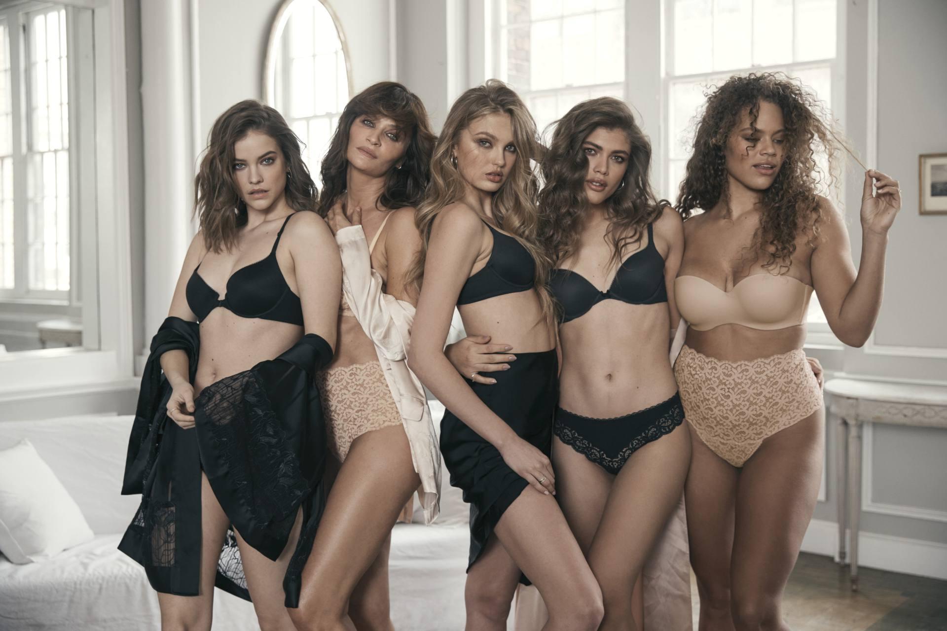 Victorias Secret Angels In Sexy Lingerie