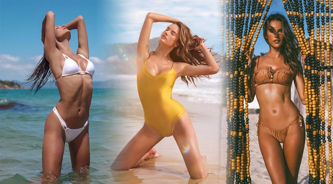 Alessandra Ambrosio – Sexy Body in Beautiful Photoshoot for Gal Floripa  Swimwear (April 2020)