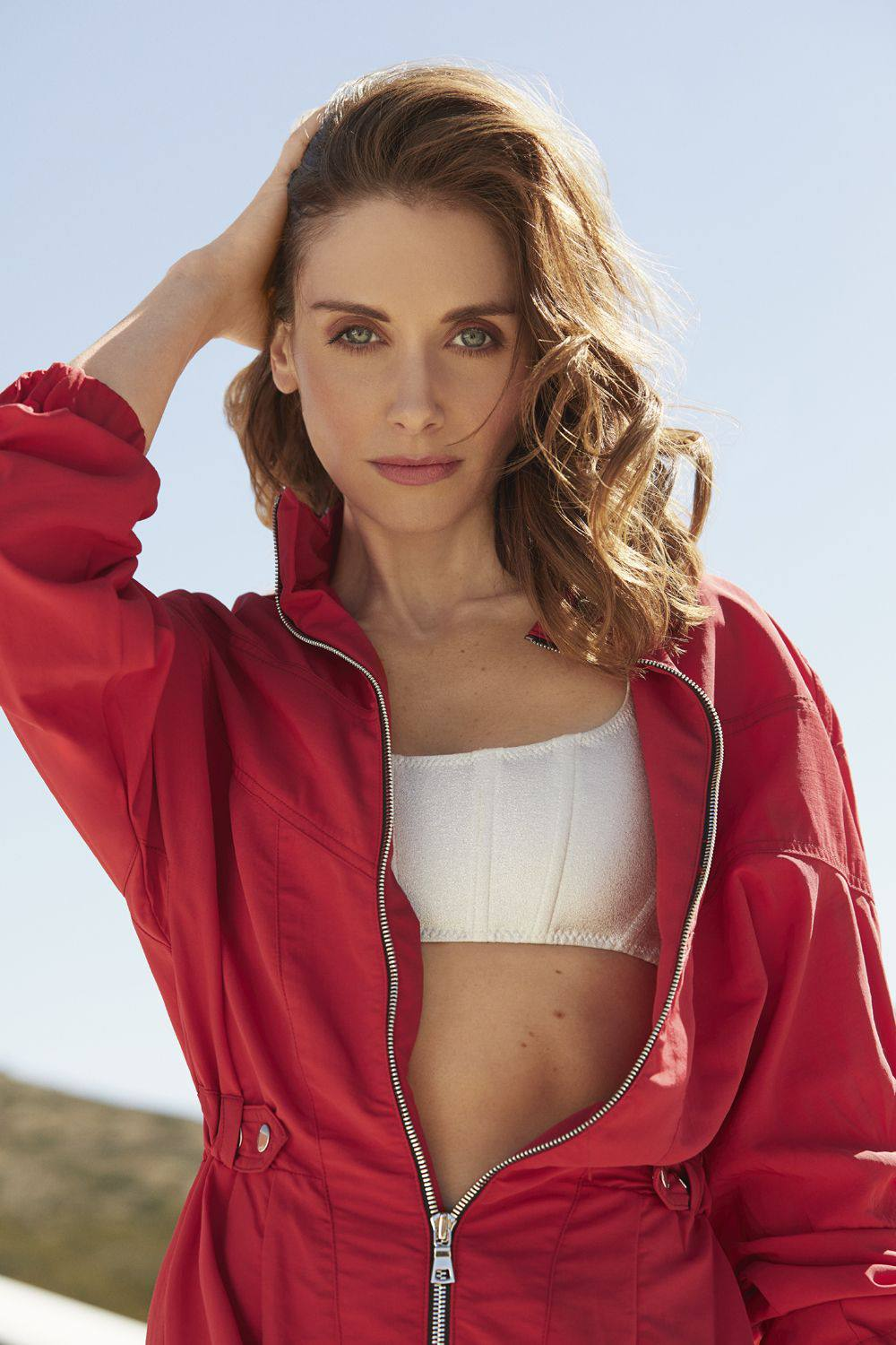 Alison Brie - Sexy Toned Body in Womens Health US