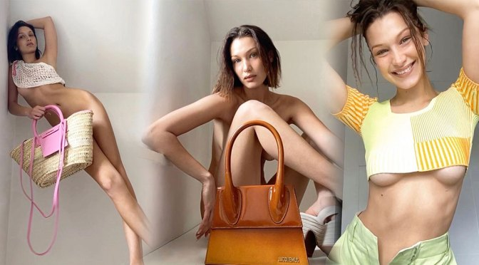 Bella Hadid – Sexy Naked Photoshoot for Jacquemus S/S 2020 by Pierre-Ange Carlotti