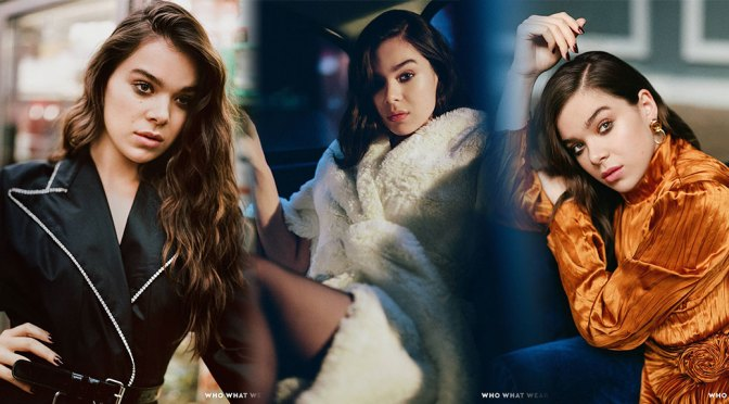 Hailee Steinfeld – Beautiful in Photoshoot for Who What Wear