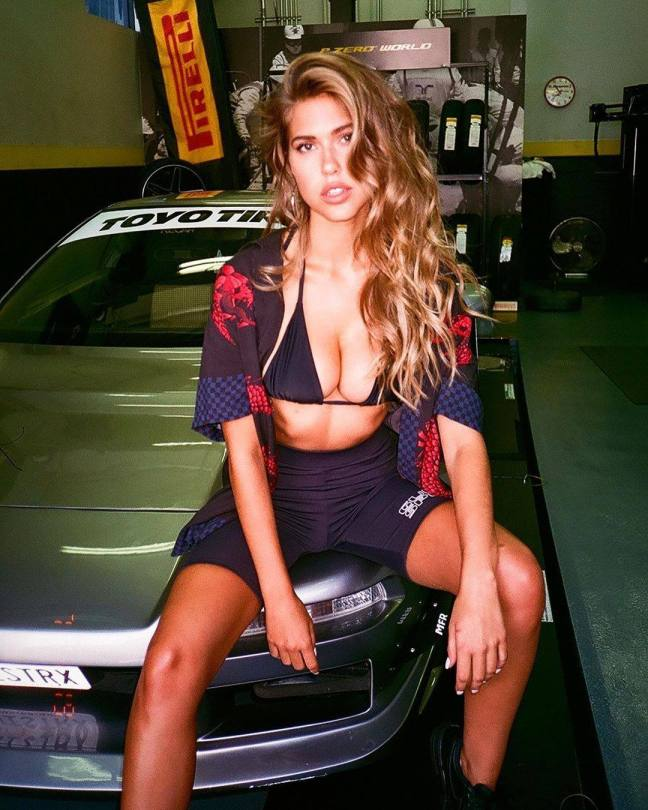 Kara Del Toro Perfect Boobs