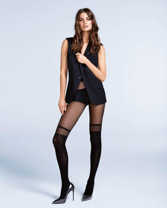 Ophelie Guillermand Sexy In Pantyhose