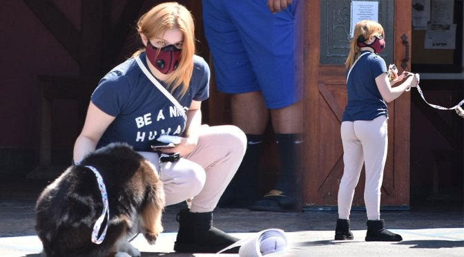 Ariel Winter – Sexy Ass in Sweatpants Out in Studio City
