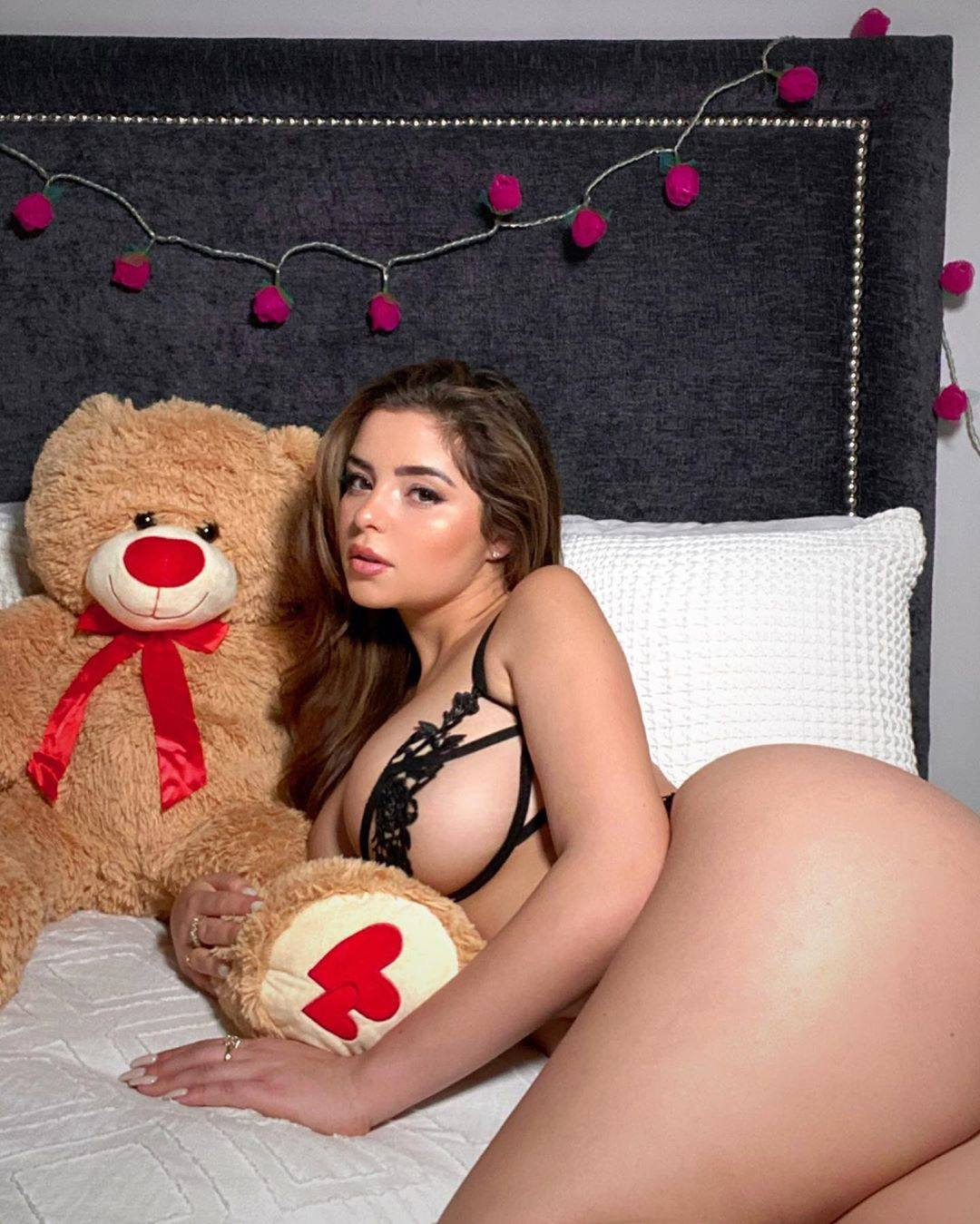 Demi Rose Mawby Sexy In Revealing Lingerie