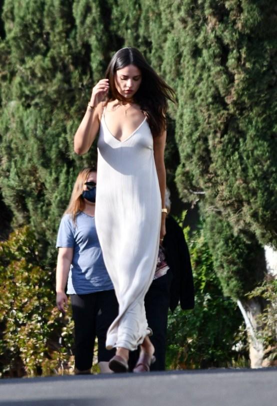 Eiza Gonzalez Sexy White Dress