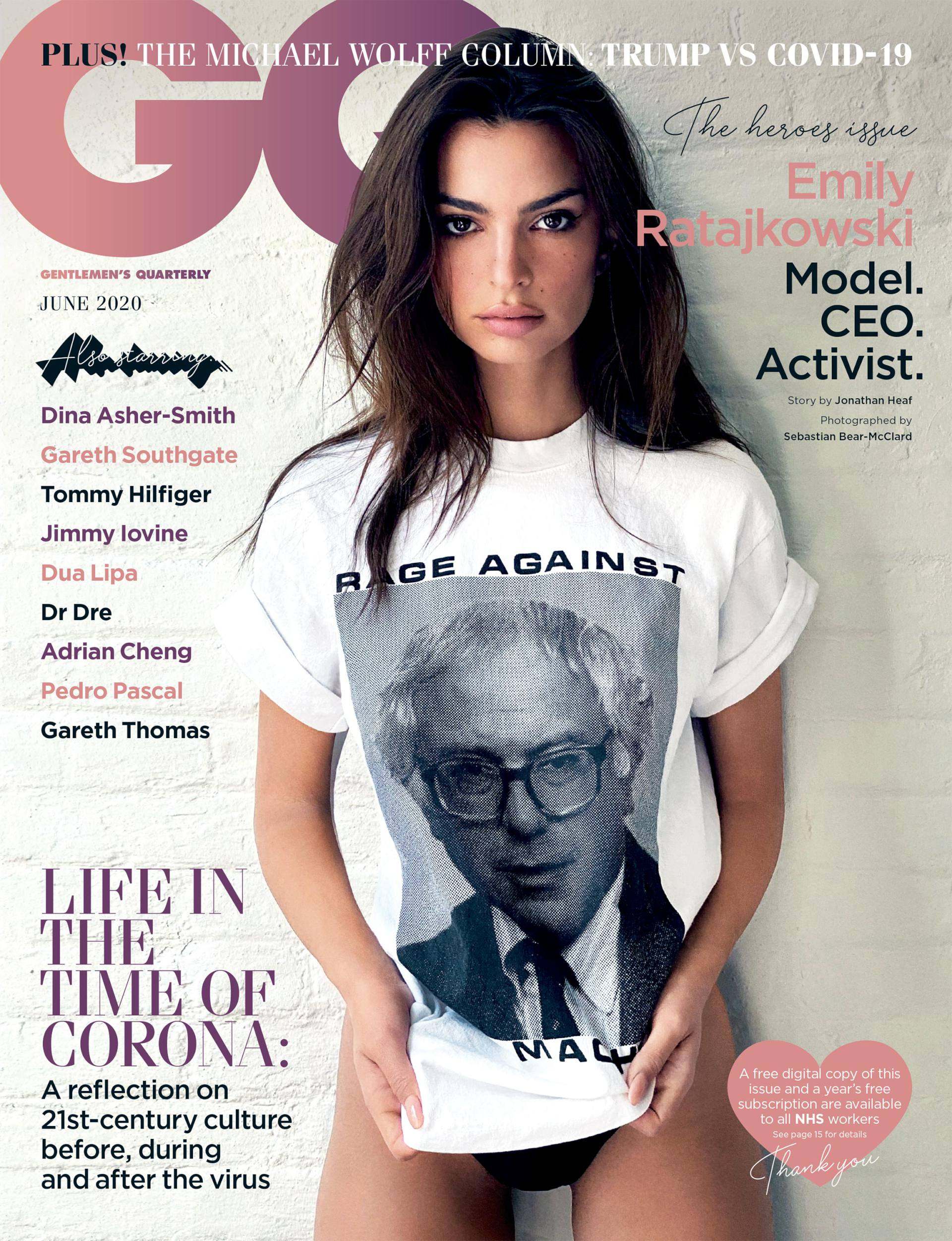 Emily Ratajkowski - Sexy in GQ Magazine Photoshoot (May 2020 ...
