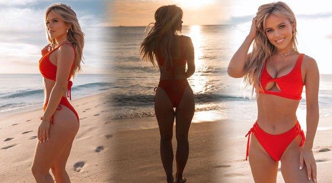 Hilde Osland – Big Boobs in Sexy Bikini Photoshoot