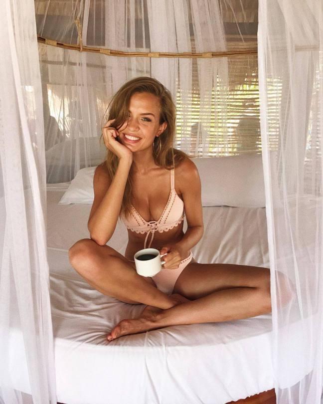 Josephine Skriver Beautiful In Underwear