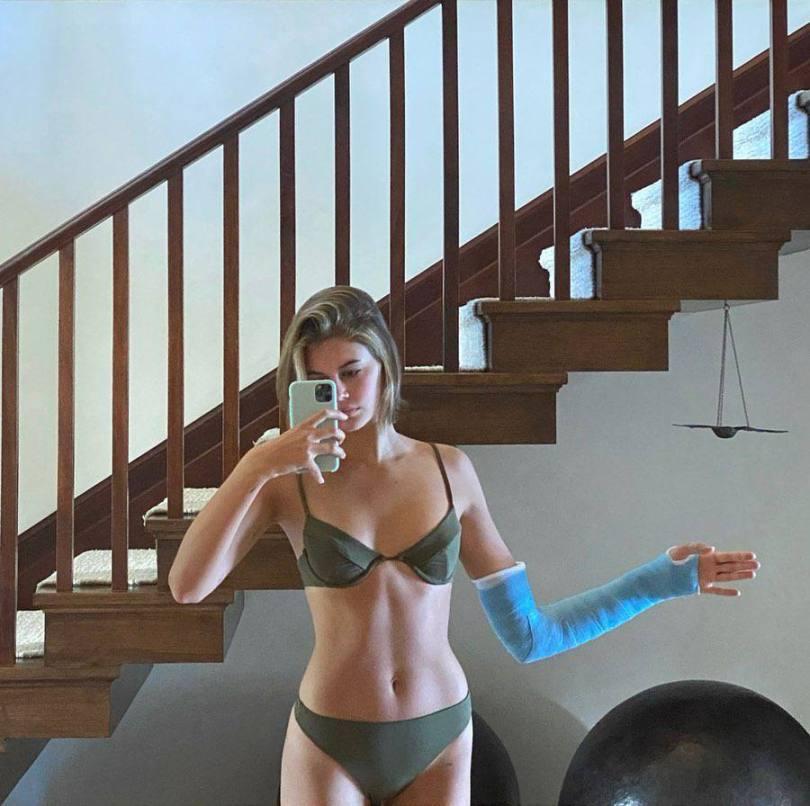 Kaia Gerber Tiny Bikini