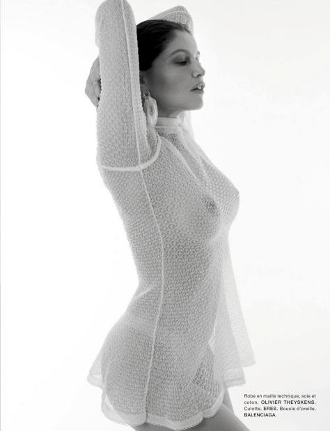 Laetitia Casta Braless Boobs And Nipples