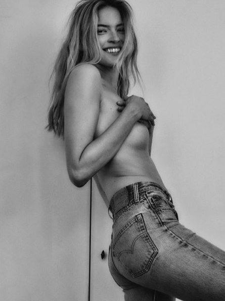 Martha Hunt Topless Photoshoot
